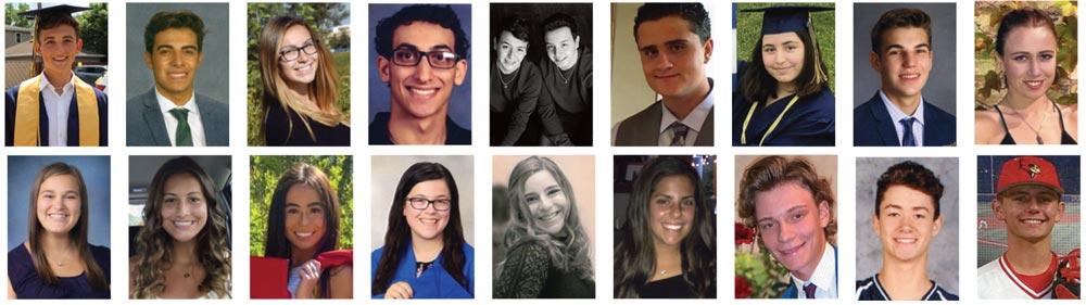 Photo of CIACO 2020 Scholarship Recipients