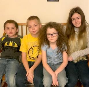 Photo of the Gooch family